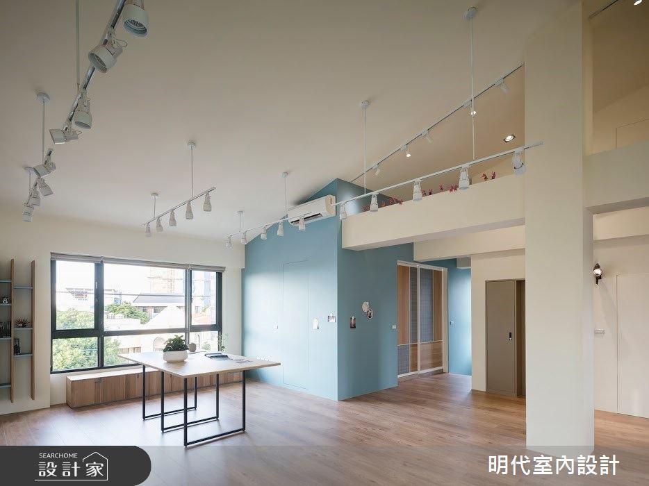 100坪新成屋(5年以下)_簡約風案例圖片_明代室內裝修設計有限公司_明代_35之28