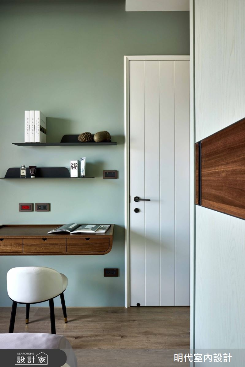 35坪預售屋_現代風臥室案例圖片_明代室內裝修設計有限公司_明代_37之11
