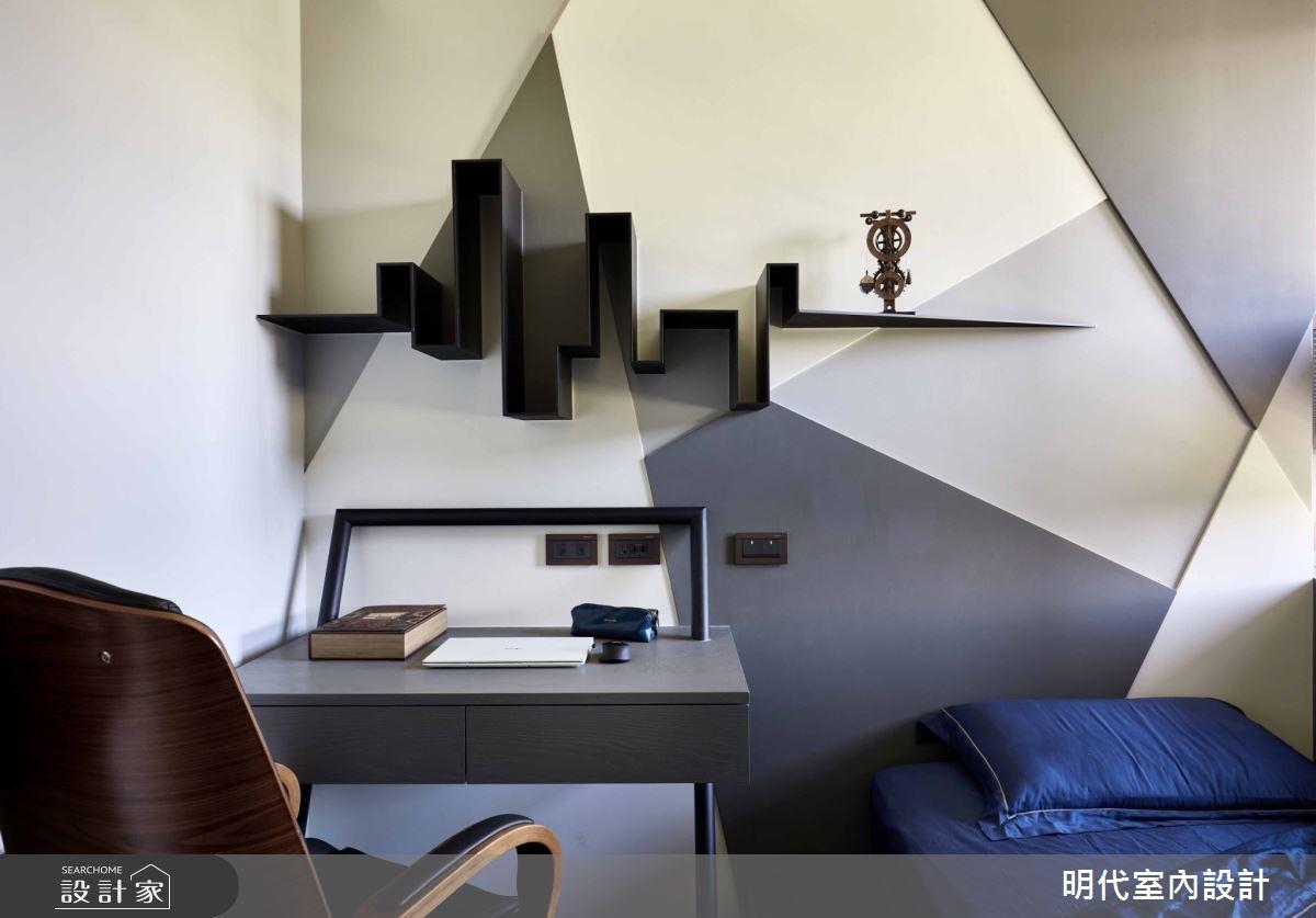 35坪預售屋_現代風臥室客房案例圖片_明代室內裝修設計有限公司_明代_37之17
