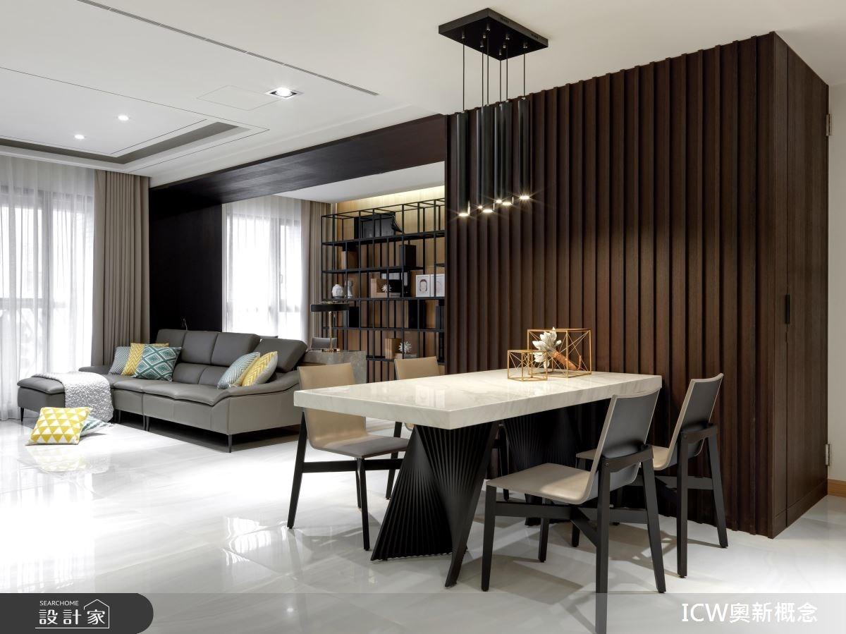 41坪新成屋(5年以下)_現代風案例圖片_奧新概念_奧新_01之3