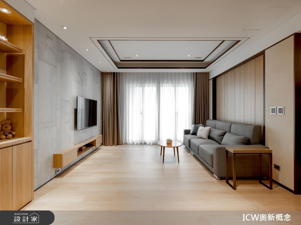 30坪預售屋_現代風案例圖片_奧新概念_奧新_06之1