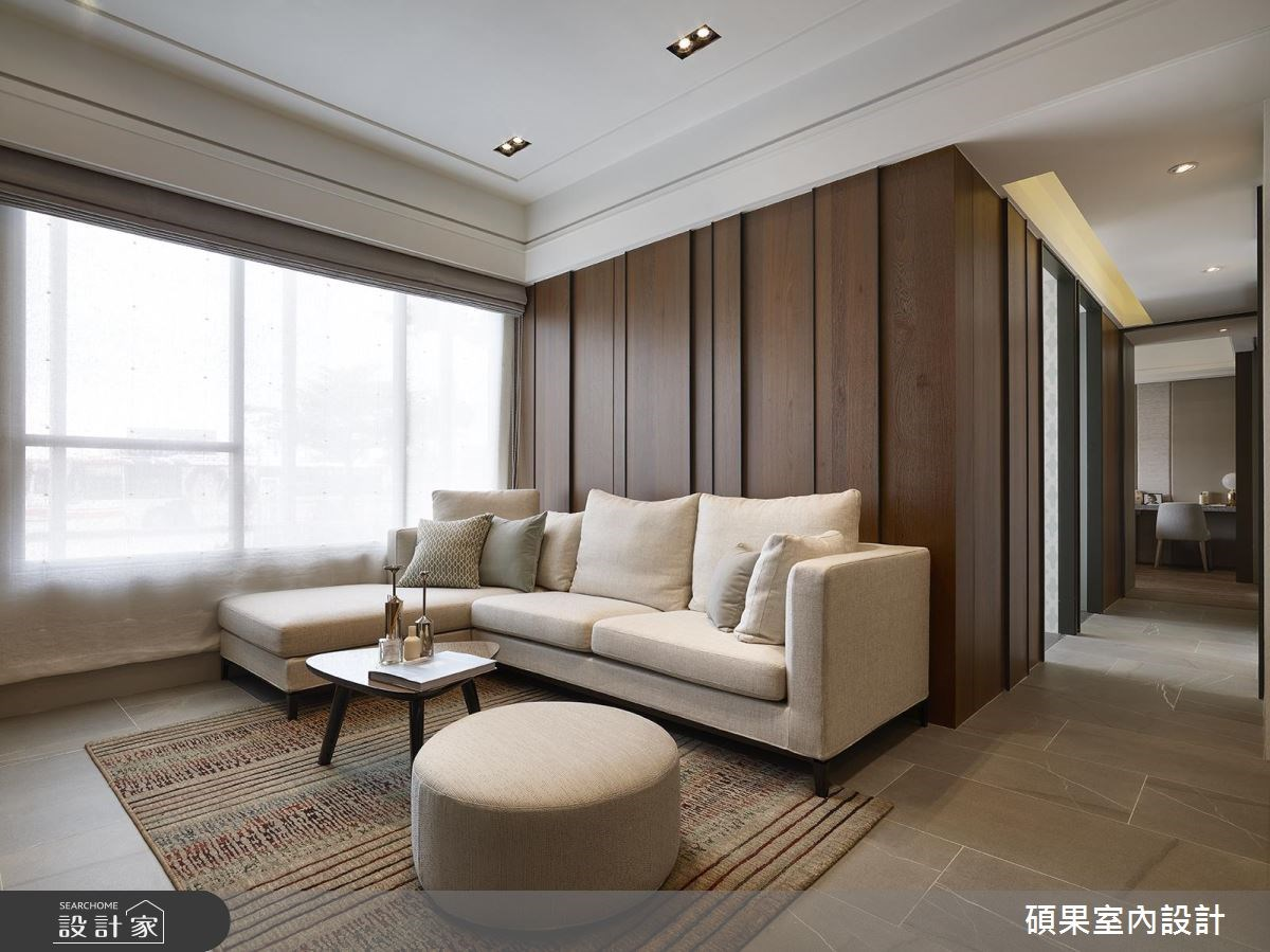 30坪新成屋(5年以下)_現代風客廳案例圖片_碩果室內裝修設計有限公司_碩果_06之4