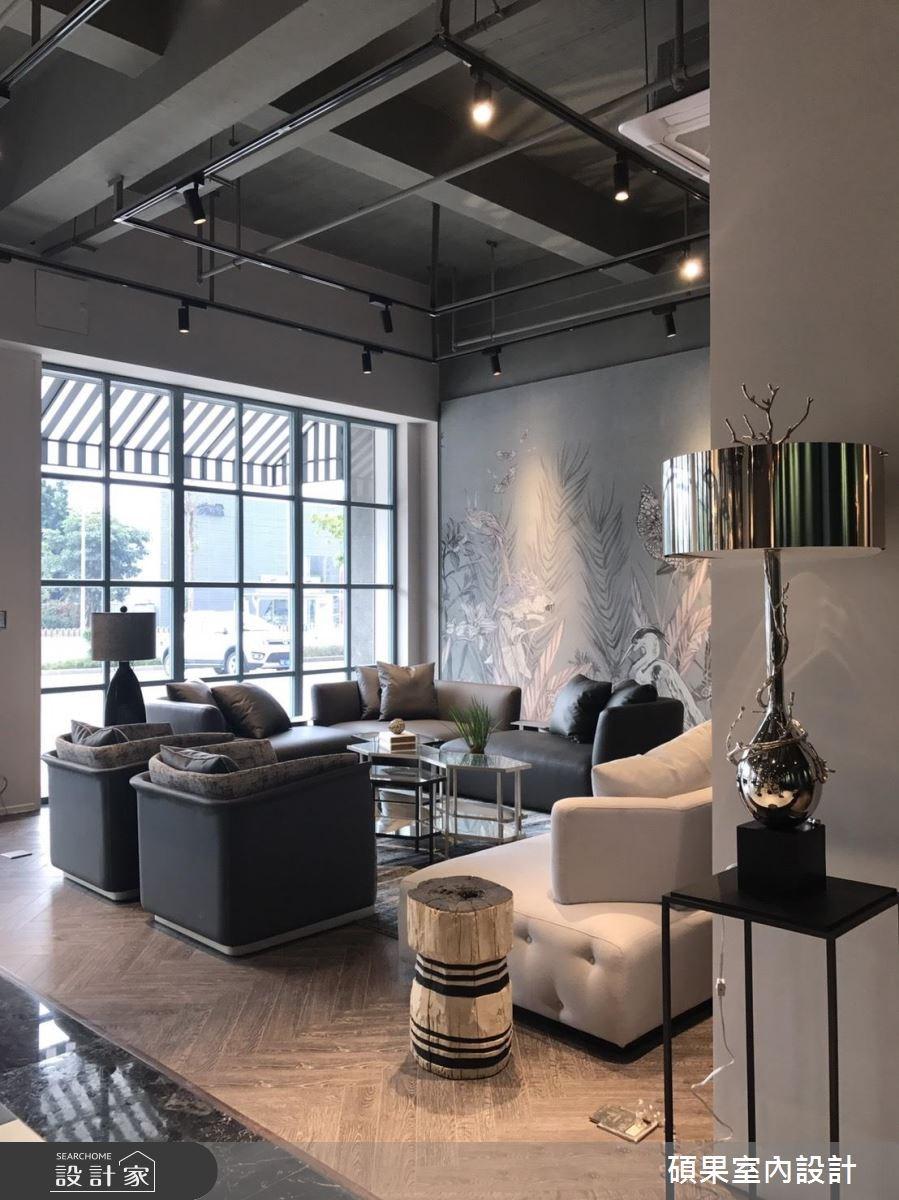 100坪新成屋(5年以下)_混搭風商業空間案例圖片_碩果室內裝修設計有限公司_碩果_11之4
