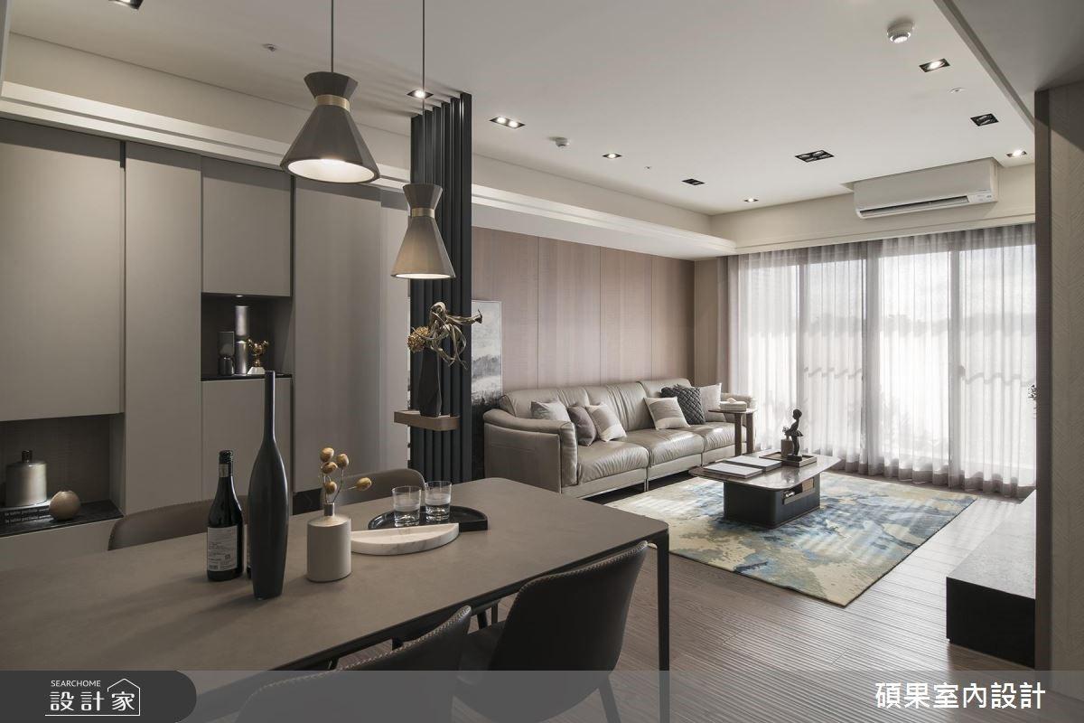 40坪新成屋(5年以下)_現代風餐廳案例圖片_碩果室內裝修設計有限公司_碩果_13之4