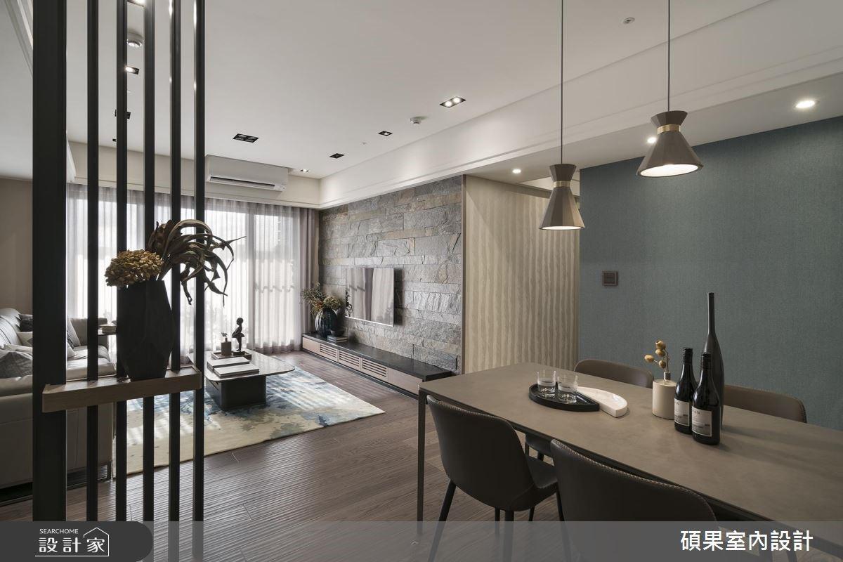 40坪新成屋(5年以下)_現代風餐廳案例圖片_碩果室內裝修設計有限公司_碩果_13之3