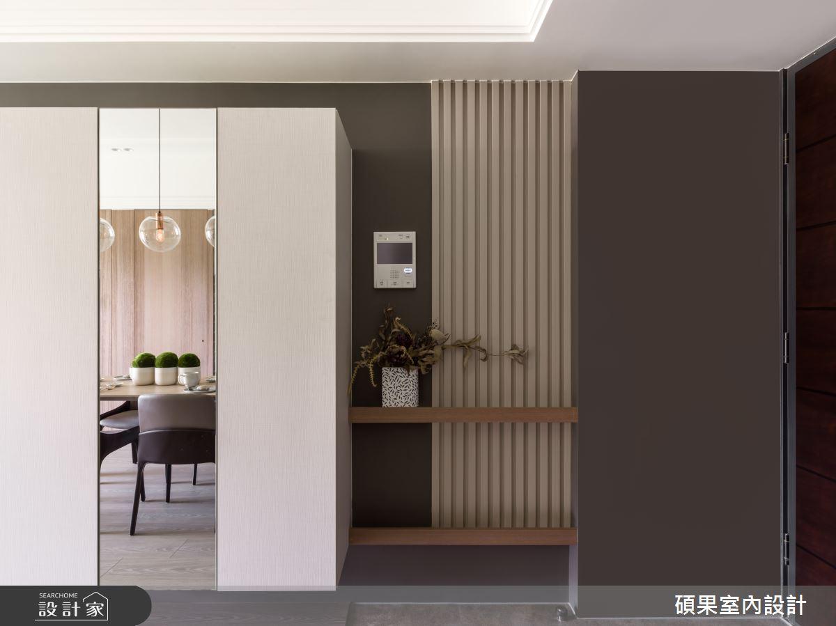 25坪新成屋(5年以下)_北歐風玄關案例圖片_碩果室內裝修設計有限公司_碩果_17之1