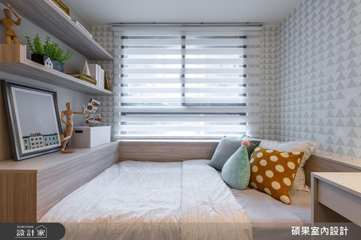25坪新成屋(5年以下)_現代風臥室案例圖片_碩果室內裝修設計有限公司_碩果_18之16