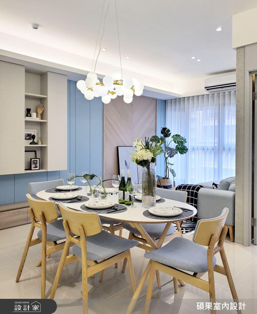 20坪新成屋(5年以下)_簡約風餐廳案例圖片_碩果室內裝修設計有限公司_碩果_20之4