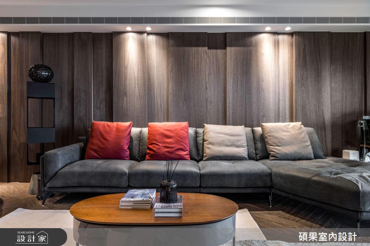 55坪新成屋(5年以下)_混搭風客廳案例圖片_碩果室內裝修設計有限公司_碩果_21之2
