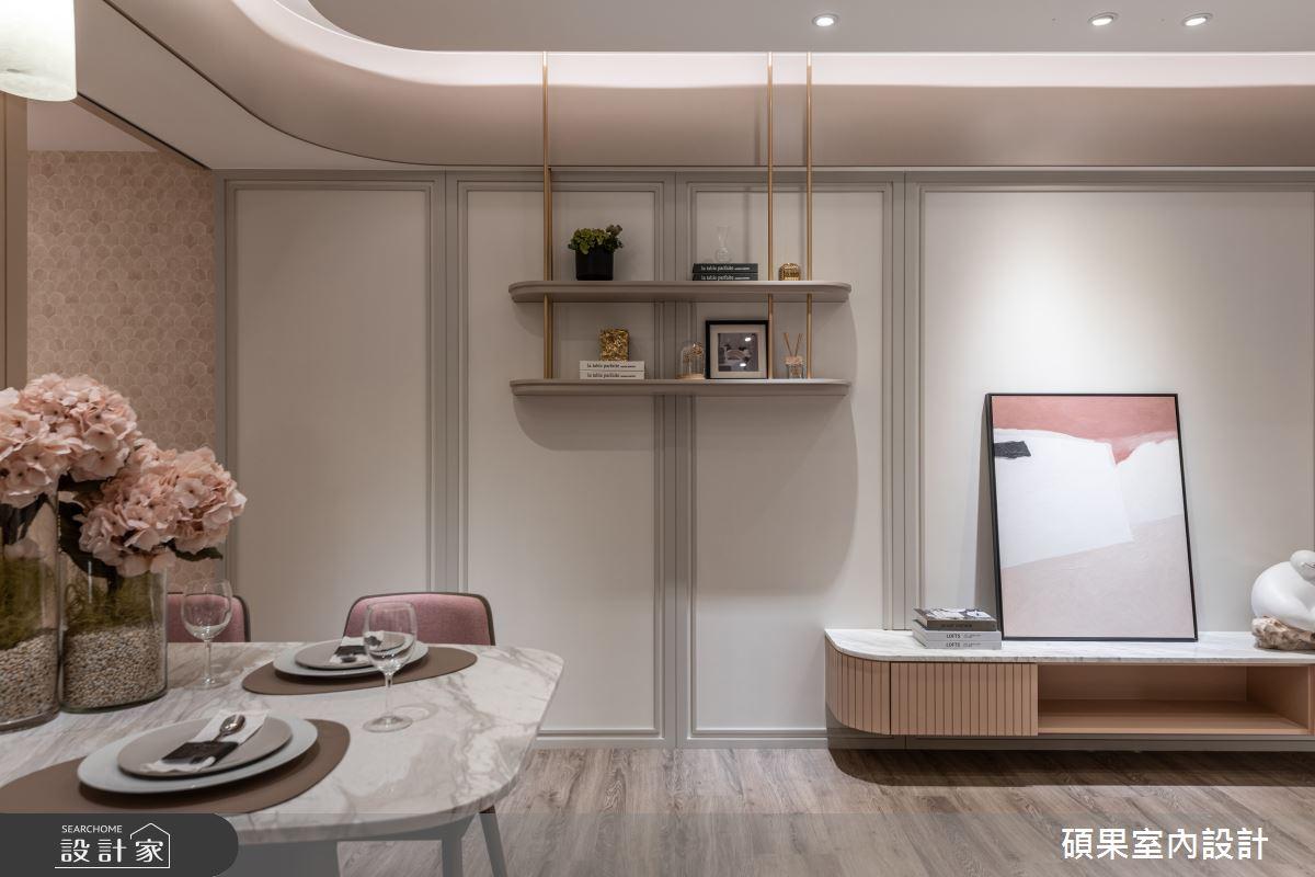 18坪新成屋(5年以下)_混搭風案例圖片_碩果室內裝修設計有限公司_碩果_25之3