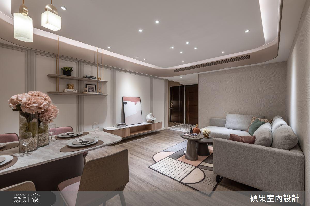 18坪新成屋(5年以下)_混搭風案例圖片_碩果室內裝修設計有限公司_碩果_25之5
