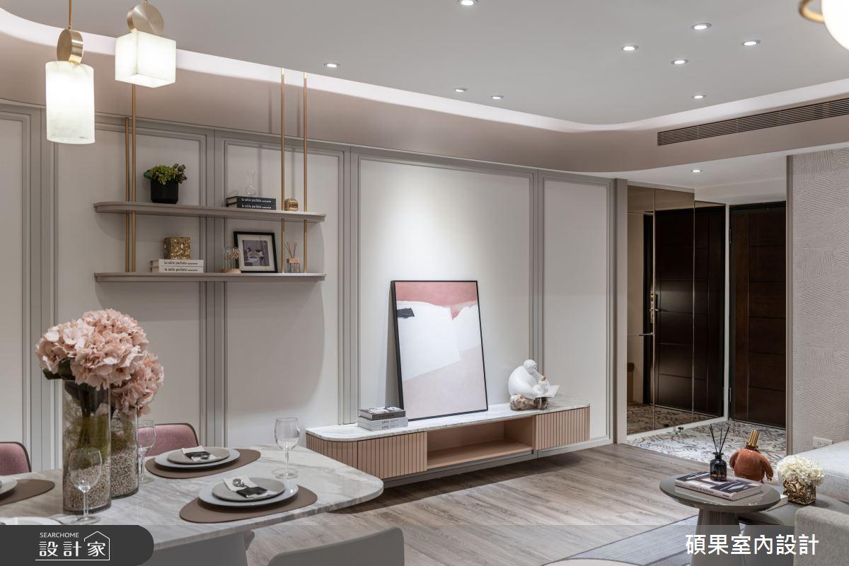 18坪新成屋(5年以下)_混搭風案例圖片_碩果室內裝修設計有限公司_碩果_25之4