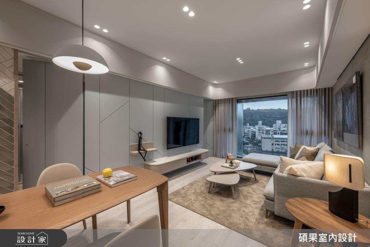 23坪新成屋(5年以下)_簡約風案例圖片_碩果室內裝修設計有限公司_碩果_26之3