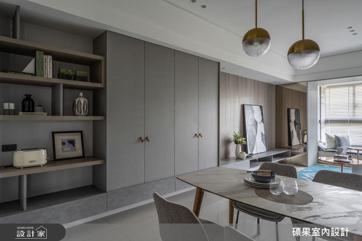 24坪新成屋(5年以下)_簡約風案例圖片_碩果室內裝修設計有限公司_碩果_27之1