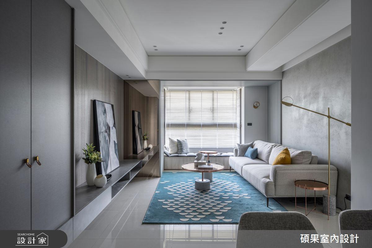 24坪新成屋(5年以下)_簡約風案例圖片_碩果室內裝修設計有限公司_碩果_27之4