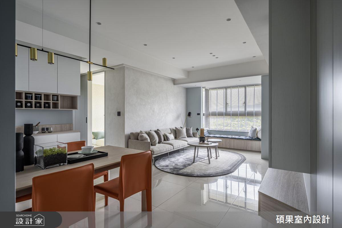 24坪新成屋(5年以下)_簡約風案例圖片_碩果室內裝修設計有限公司_碩果_28之1
