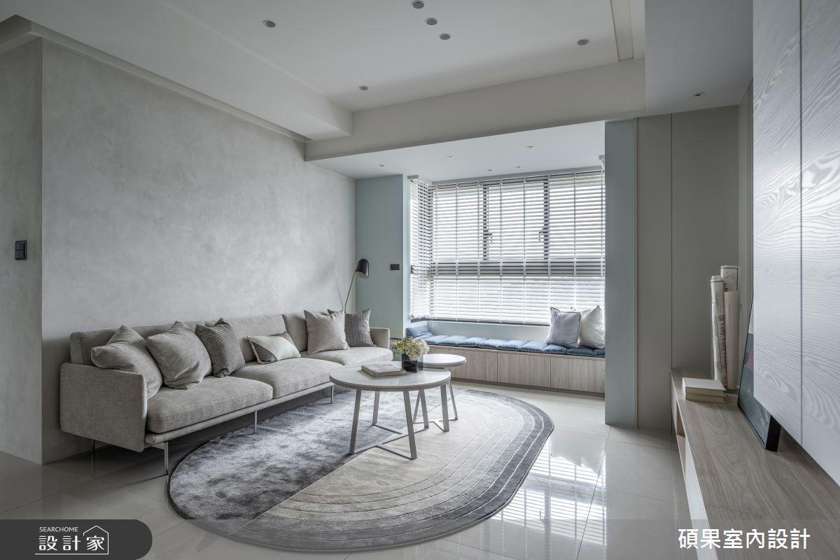 24坪新成屋(5年以下)_簡約風案例圖片_碩果室內裝修設計有限公司_碩果_28之3