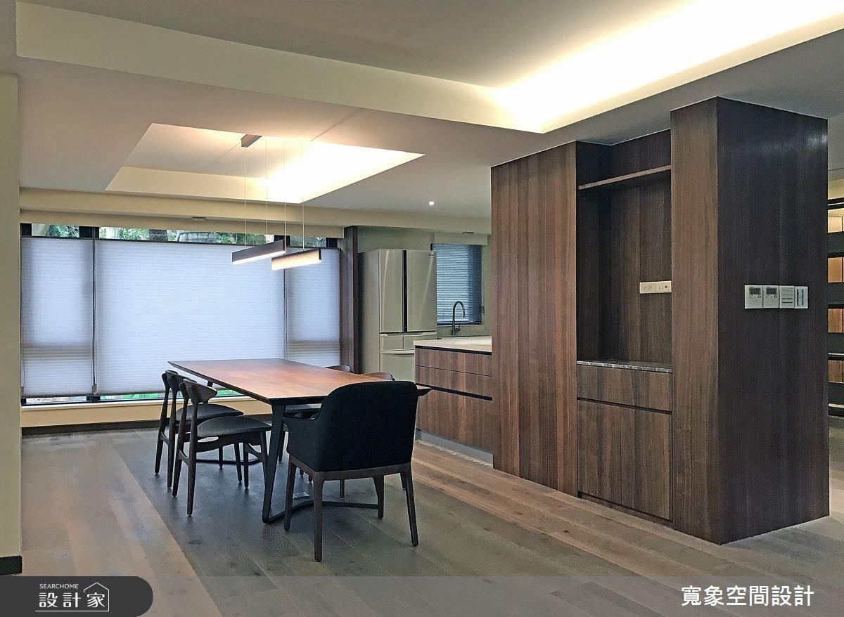 100坪新成屋(5年以下)_現代風餐廳案例圖片_寬象空間室內裝修有限公司_寬象_01之2