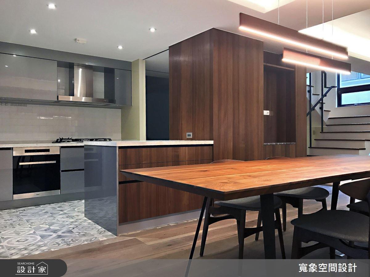 100坪新成屋(5年以下)_現代風餐廳案例圖片_寬象空間室內裝修有限公司_寬象_01之3