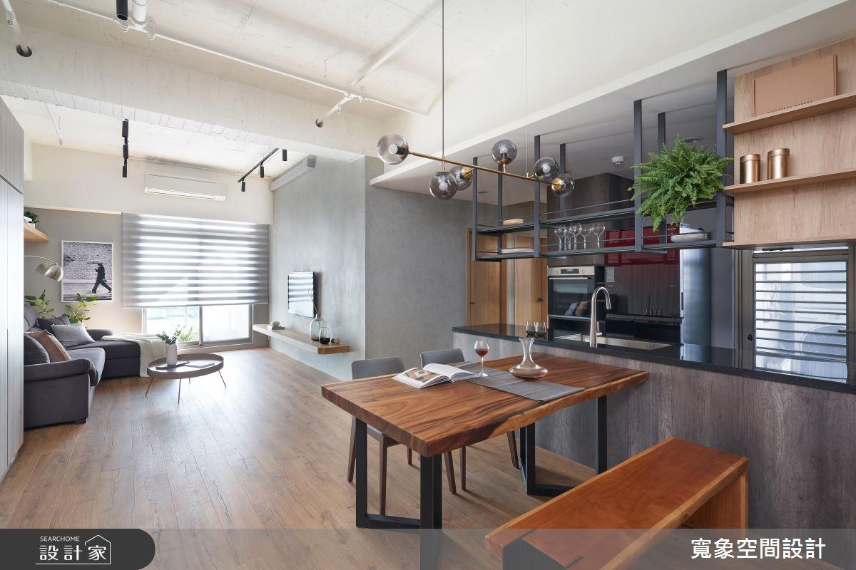 28坪中古屋(5~15年)_工業風餐廳案例圖片_寬象空間室內裝修有限公司_寬象_12之3