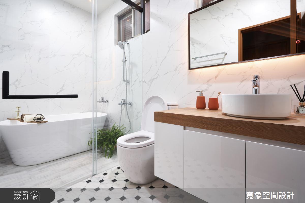 28坪中古屋(5~15年)_工業風浴室案例圖片_寬象空間室內裝修有限公司_寬象_12之15