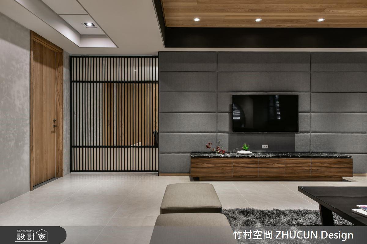 75坪新成屋(5年以下)_新中式風客廳案例圖片_竹村空間 ZHUCUN Design_竹村_08之3