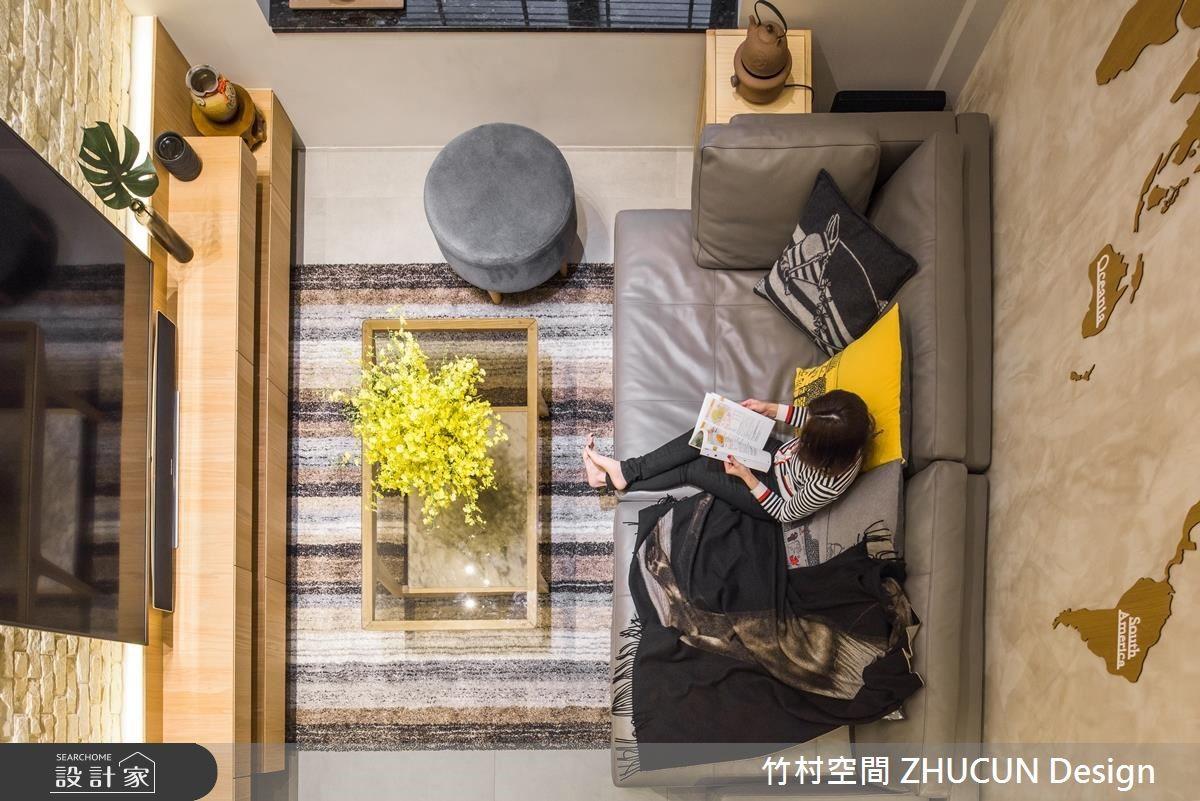 47坪老屋(16~30年)_簡約風客廳案例圖片_竹村空間 ZHUCUN Design_竹村_11之10