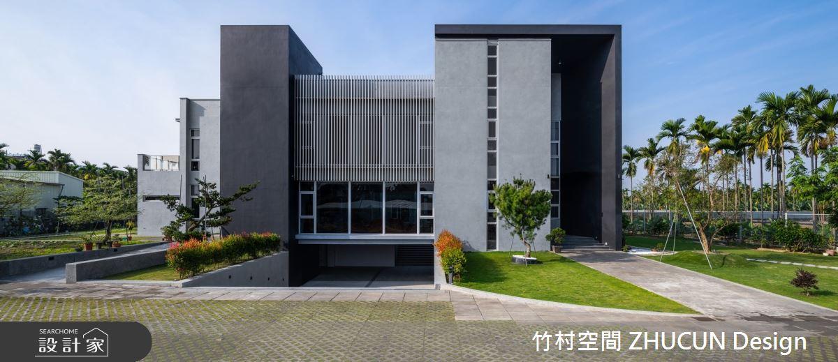 350坪新成屋(5年以下)_現代風庭院案例圖片_竹村空間 ZHUCUN Design_竹村_15之2