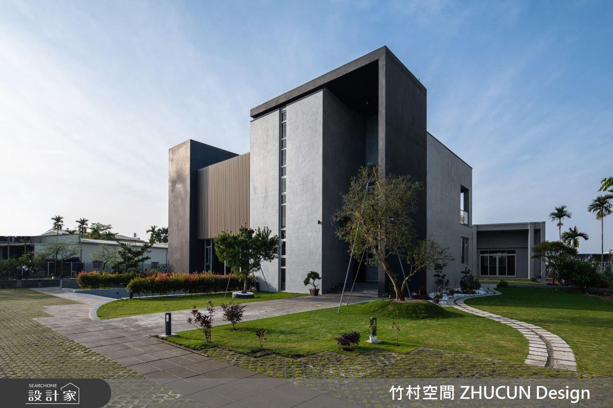350坪新成屋(5年以下)_現代風庭院案例圖片_竹村空間 ZHUCUN Design_竹村_15之3