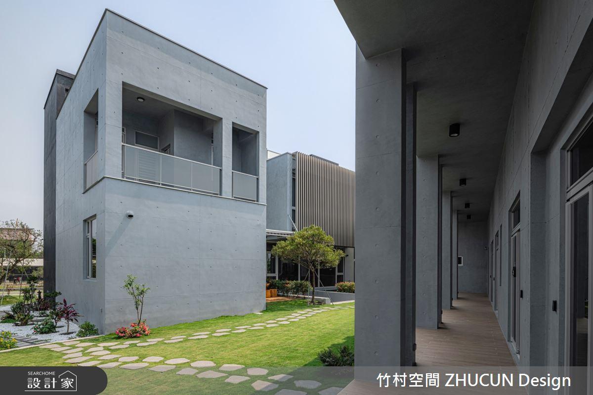350坪新成屋(5年以下)_現代風庭院案例圖片_竹村空間 ZHUCUN Design_竹村_15之4