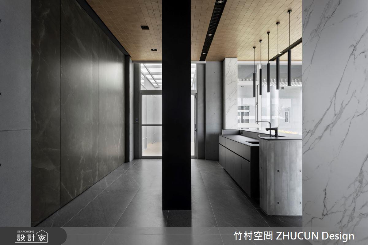 350坪新成屋(5年以下)_現代風玄關案例圖片_竹村空間 ZHUCUN Design_竹村_15之5
