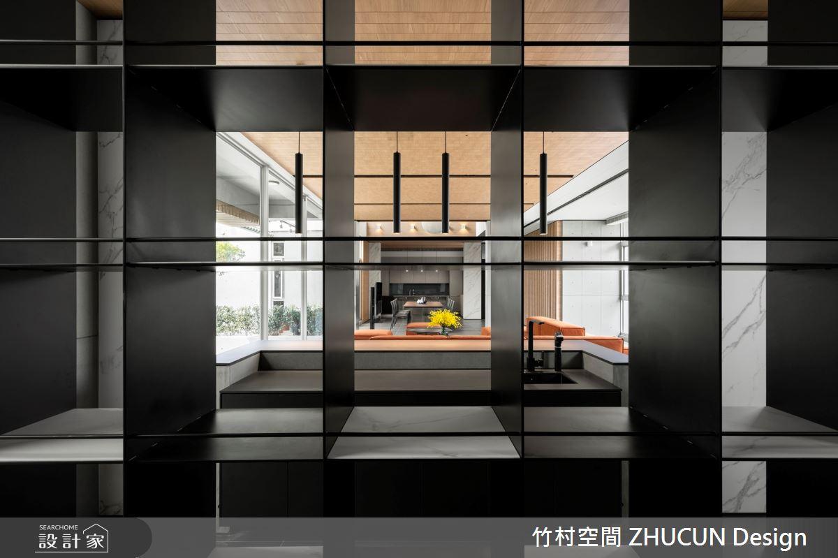 350坪新成屋(5年以下)_現代風玄關案例圖片_竹村空間 ZHUCUN Design_竹村_15之6
