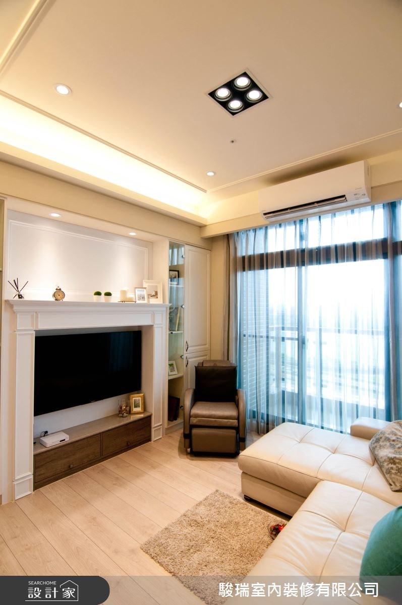 24坪新成屋(5年以下)_美式風客廳案例圖片_駿瑞室內裝修有限公司_駿瑞_03之4