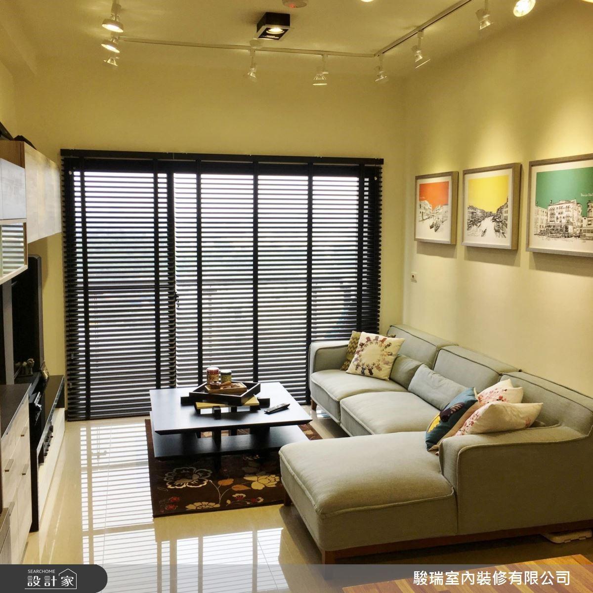 28坪新成屋(5年以下)_現代風客廳案例圖片_駿瑞室內裝修有限公司_駿瑞_05之4