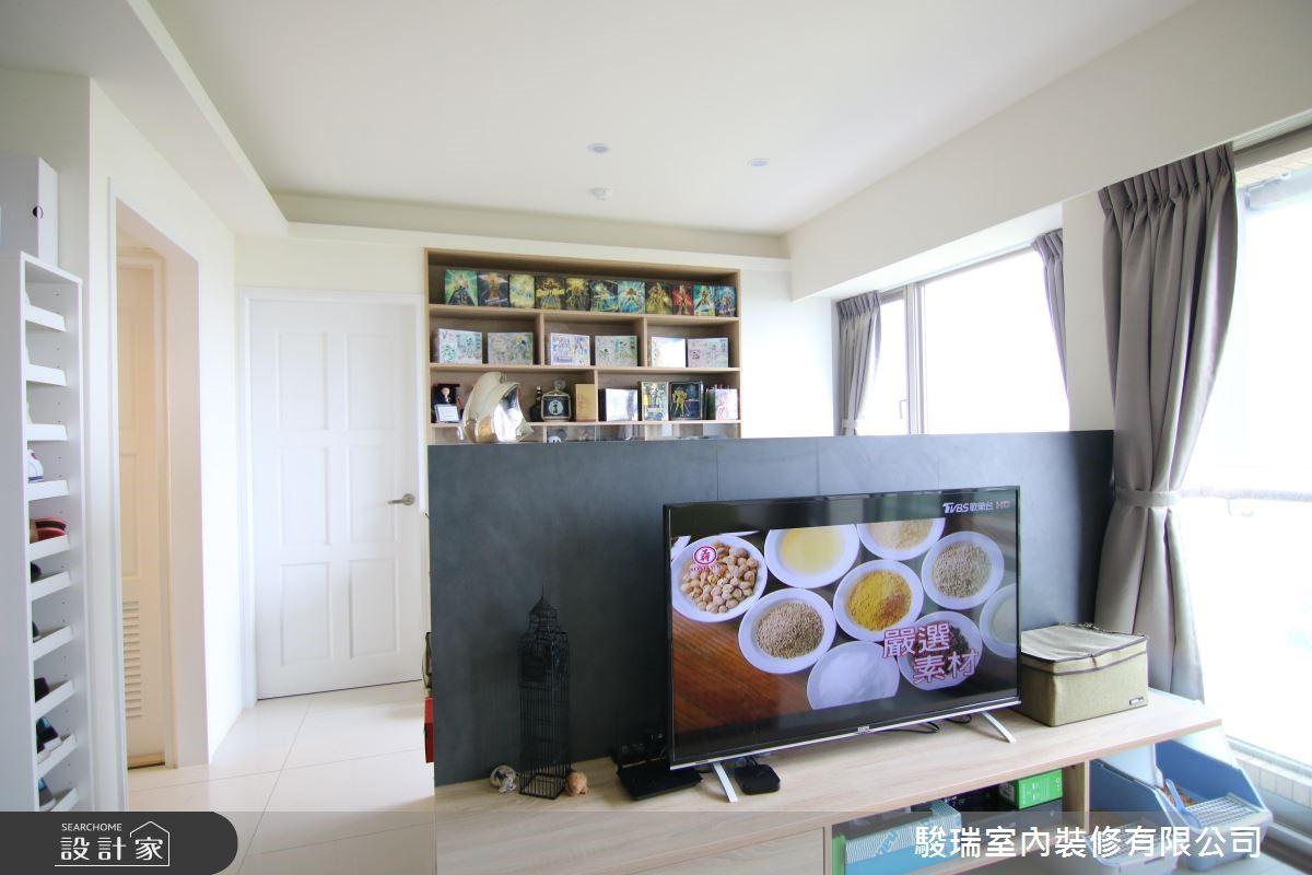 17坪新成屋(5年以下)_北歐風客廳案例圖片_駿瑞室內裝修有限公司_駿瑞_06之4