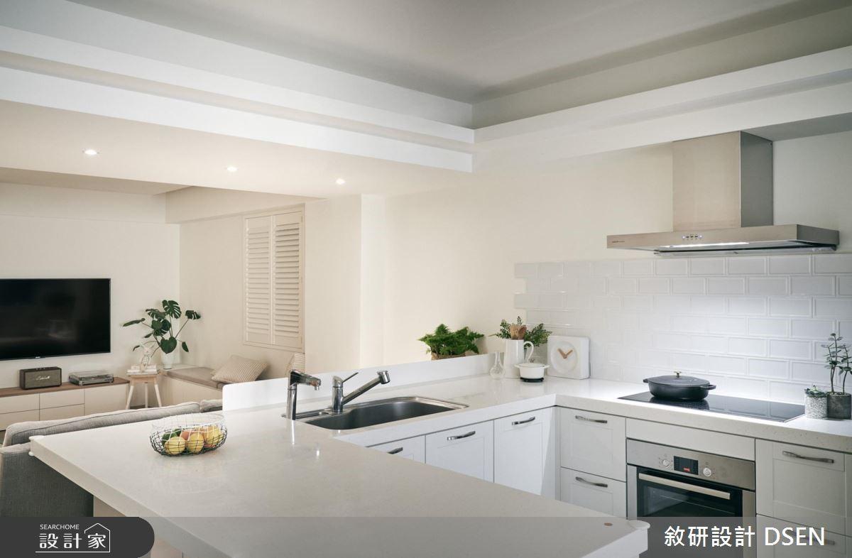 25坪老屋(16~30年)_北歐風廚房案例圖片_敘研設計有限公司_敘研_07之6