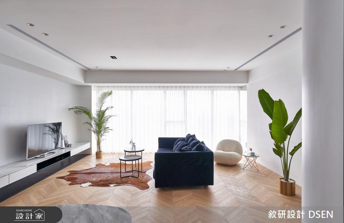 32坪新成屋(5年以下)_現代風客廳案例圖片_敘研設計有限公司_敘研_12之8