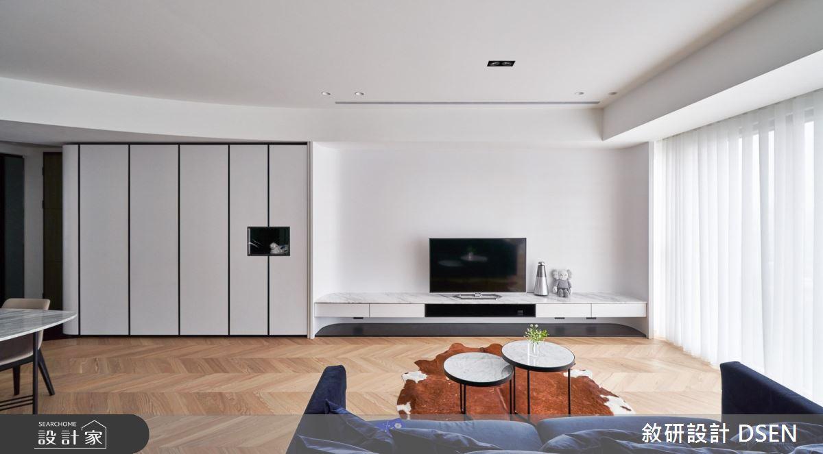 32坪新成屋(5年以下)_現代風客廳案例圖片_敘研設計有限公司_敘研_12之7