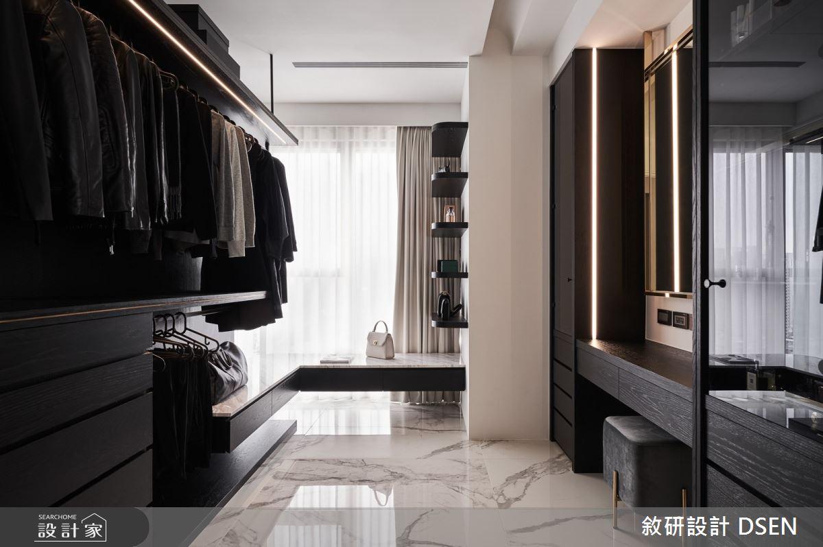 32坪新成屋(5年以下)_現代風更衣間案例圖片_敘研設計有限公司_敘研_12之19