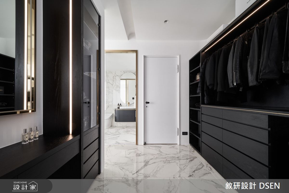 32坪新成屋(5年以下)_現代風更衣間案例圖片_敘研設計有限公司_敘研_12之21