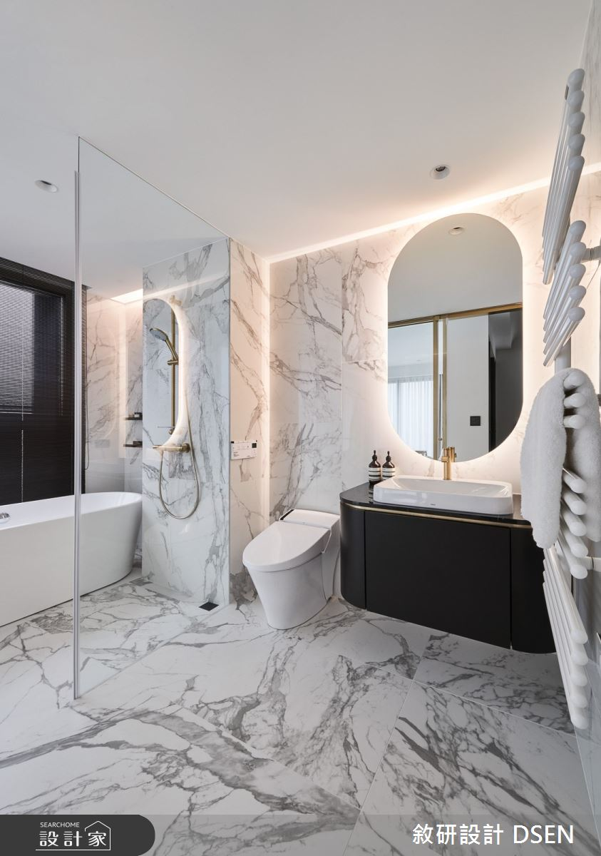 32坪新成屋(5年以下)_現代風浴室案例圖片_敘研設計有限公司_敘研_12之25