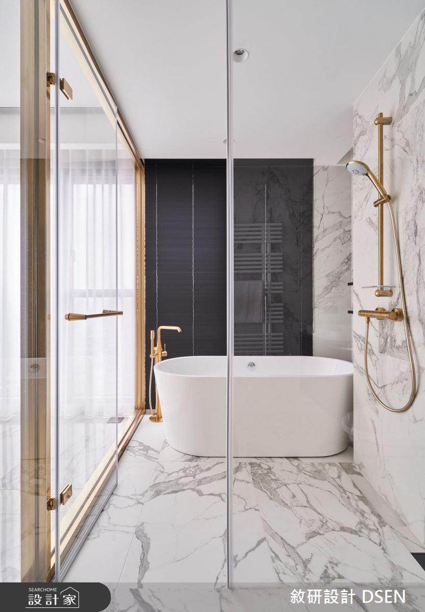 32坪新成屋(5年以下)_現代風浴室案例圖片_敘研設計有限公司_敘研_12之29