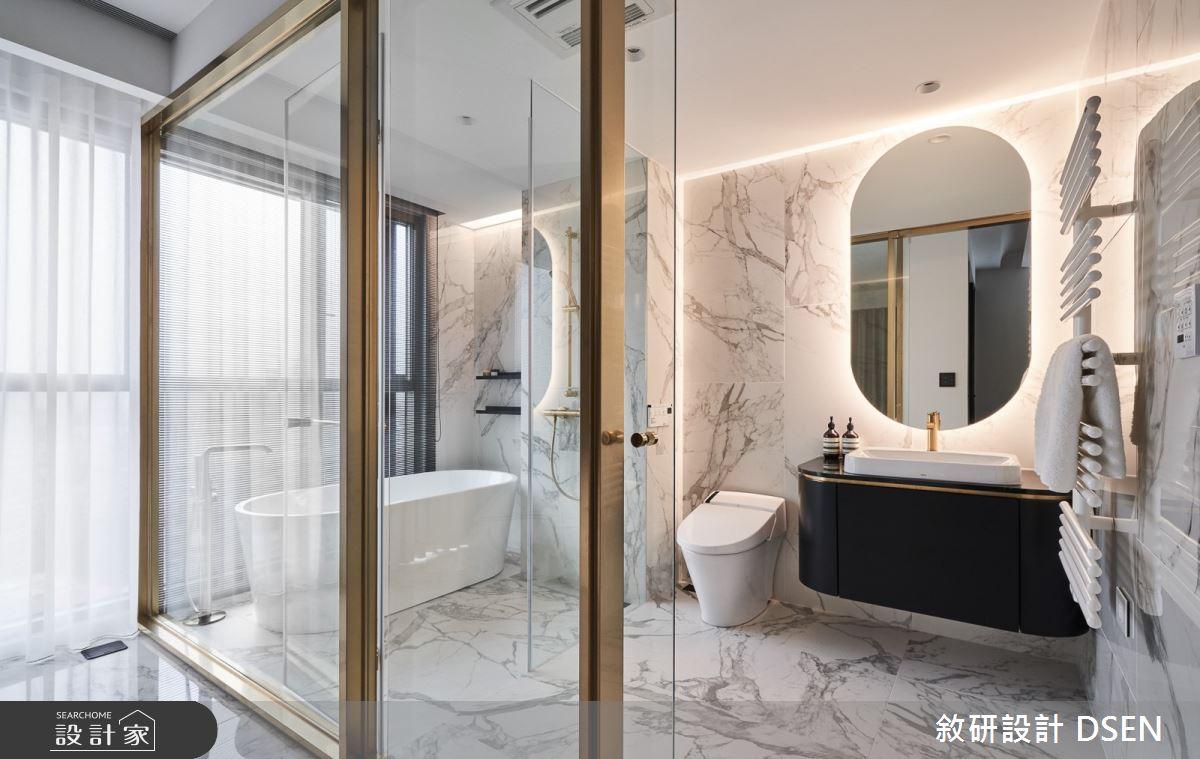 32坪新成屋(5年以下)_現代風浴室案例圖片_敘研設計有限公司_敘研_12之24