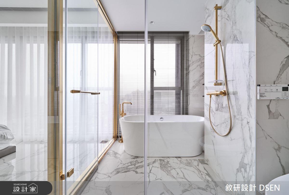 32坪新成屋(5年以下)_現代風浴室案例圖片_敘研設計有限公司_敘研_12之27