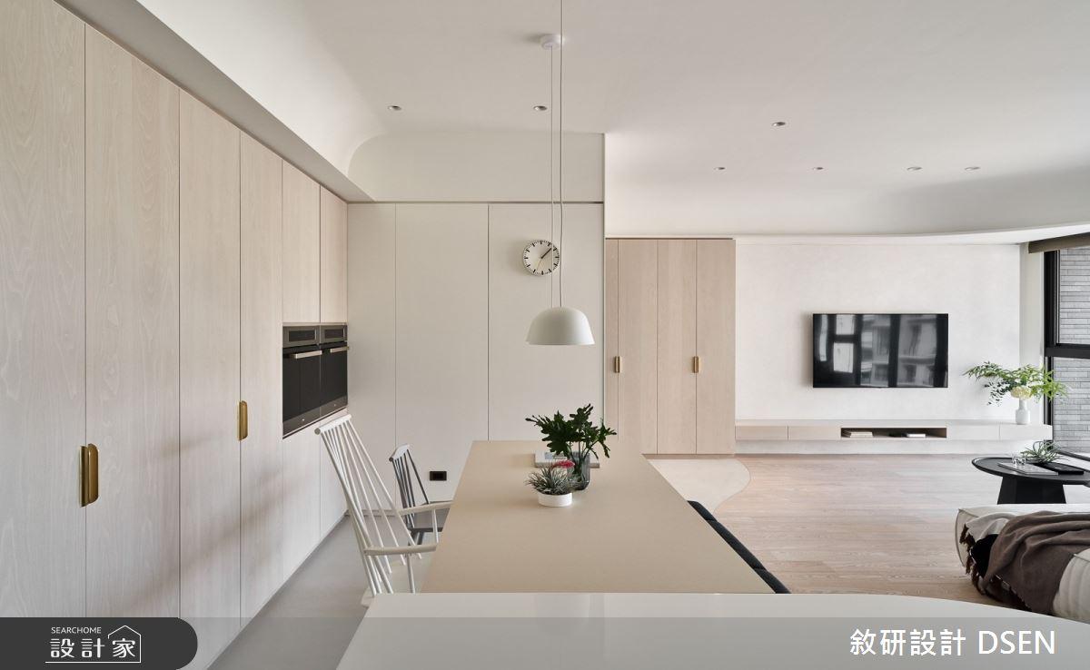 35坪新成屋(5年以下)_北歐風餐廳案例圖片_敘研設計有限公司_敘研_14之5