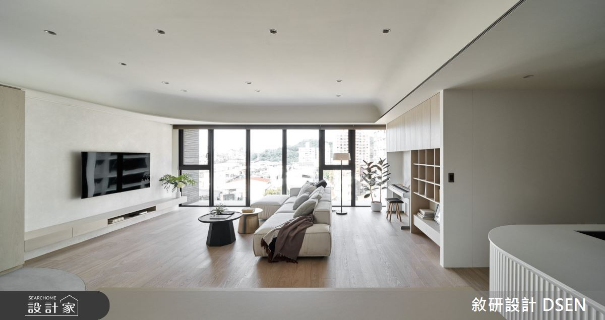 35坪新成屋(5年以下)_北歐風客廳案例圖片_敘研設計有限公司_敘研_14之6