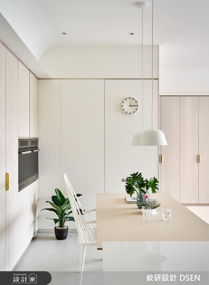 35坪新成屋(5年以下)_北歐風餐廳案例圖片_敘研設計有限公司_敘研_14之14