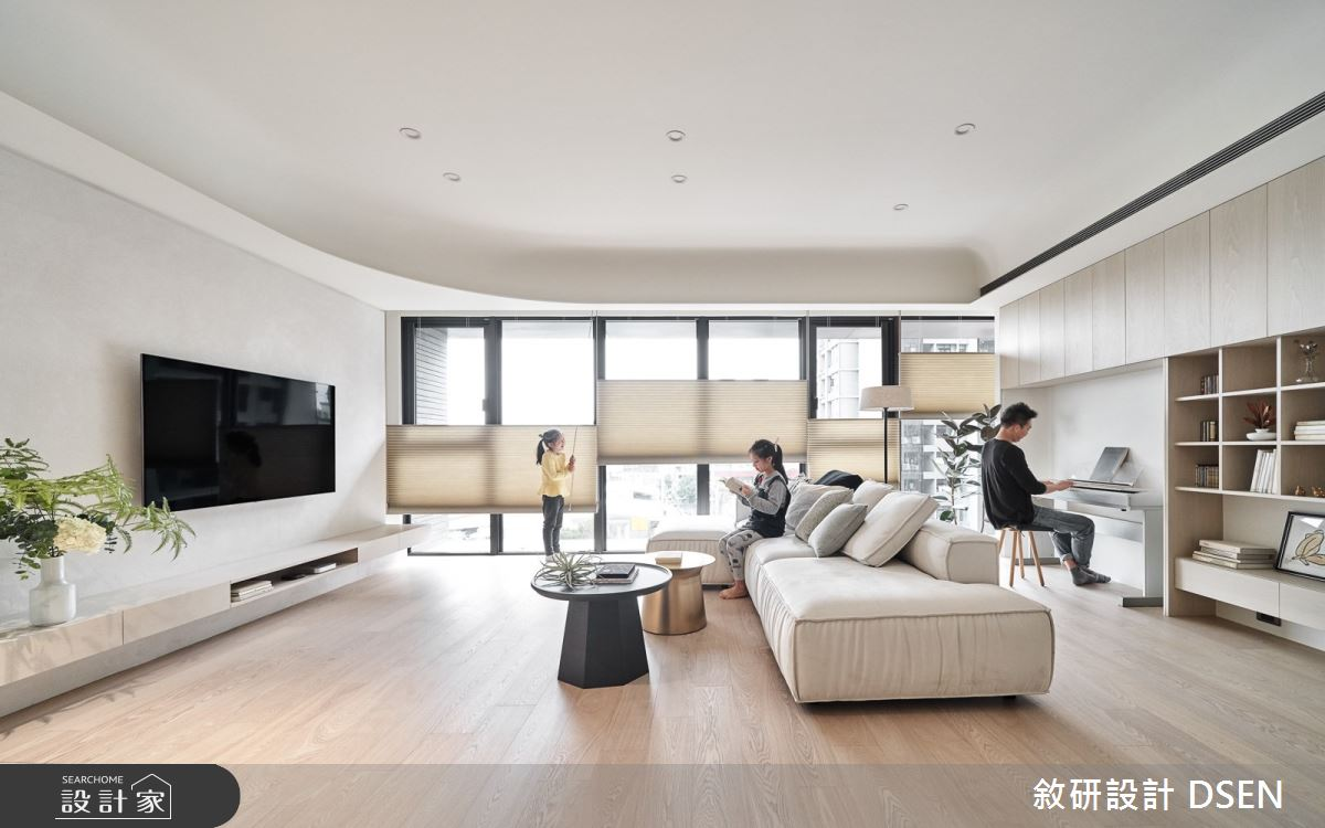 35坪新成屋(5年以下)_北歐風客廳案例圖片_敘研設計有限公司_敘研_14之8