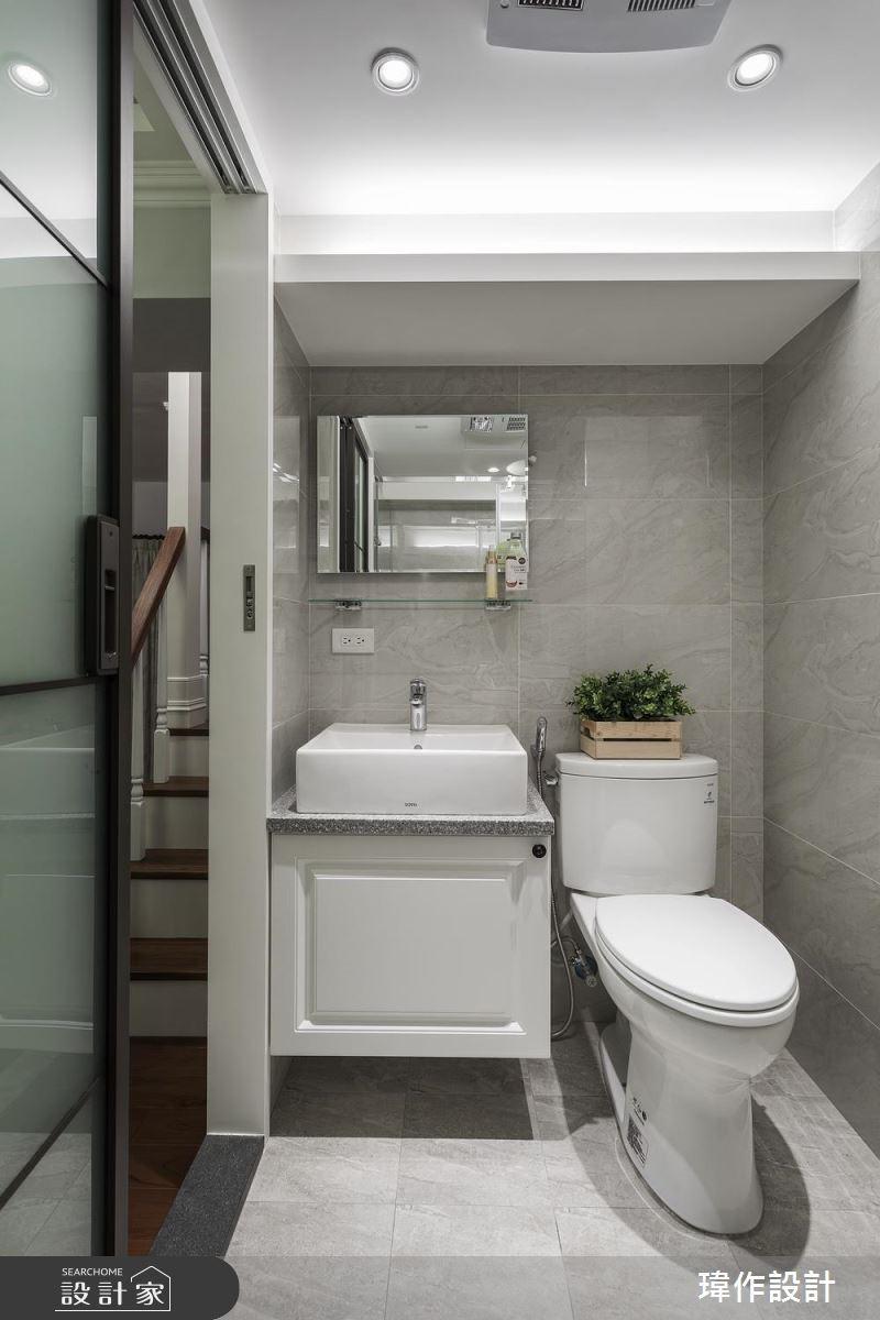 13坪老屋(16~30年)_美式風浴室案例圖片_瑋作設計有限公司_瑋作_品味之16