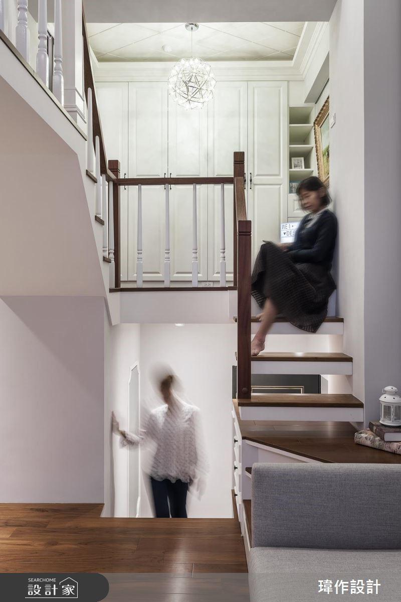 13坪老屋(16~30年)_美式風樓梯案例圖片_瑋作設計有限公司_瑋作_品味之7